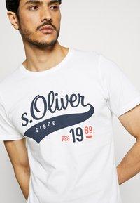 s.Oliver - T-shirt print - white - 5