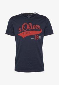 s.Oliver - T-Shirt print - night blue - 4