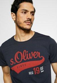 s.Oliver - T-Shirt print - night blue - 3