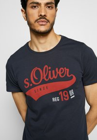 s.Oliver - T-Shirt print - night blue - 5