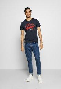s.Oliver - T-Shirt print - night blue - 1