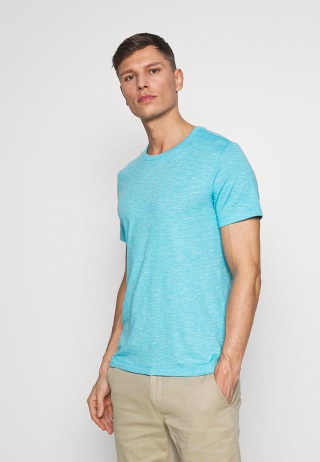 T-SHIRT KURZARM - T-shirt basic - crystal