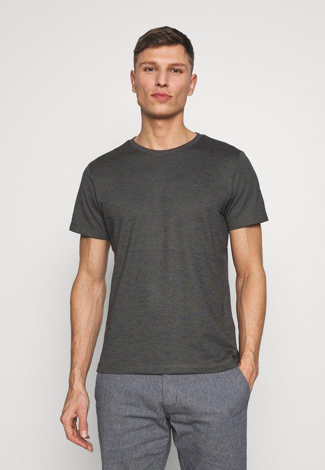 T-SHIRT KURZARM - T-shirt basic - jungle melange