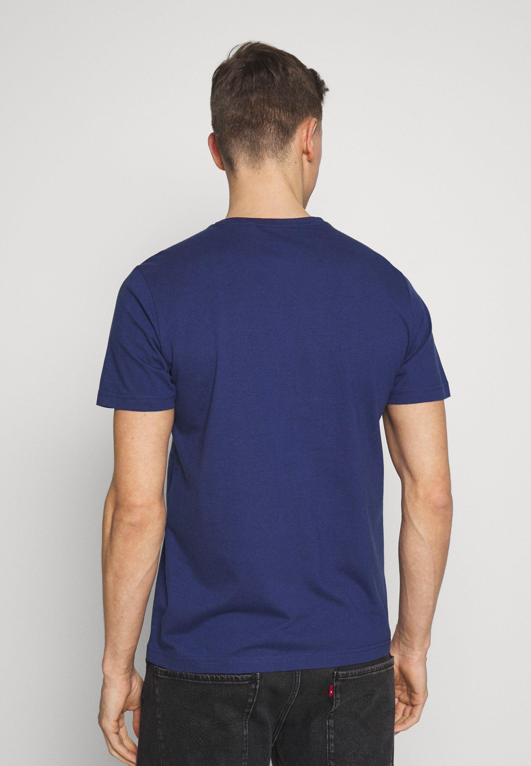 s.Oliver KURZARM - T-shirt z nadrukiem - dark ink