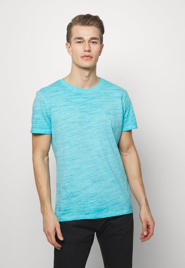 T-SHIRT KURZARM - T-shirt basic - turquoise