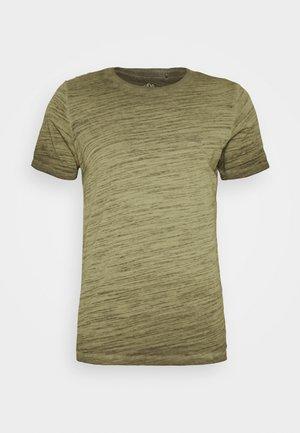 T-SHIRT KURZARM - Basic T-shirt - burnt oliv