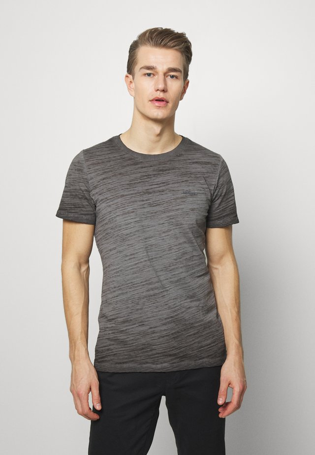 T-SHIRT KURZARM - T-shirt basic - anthrazit