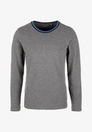 LONGSLEEVE - Long sleeved top - dark grey melange