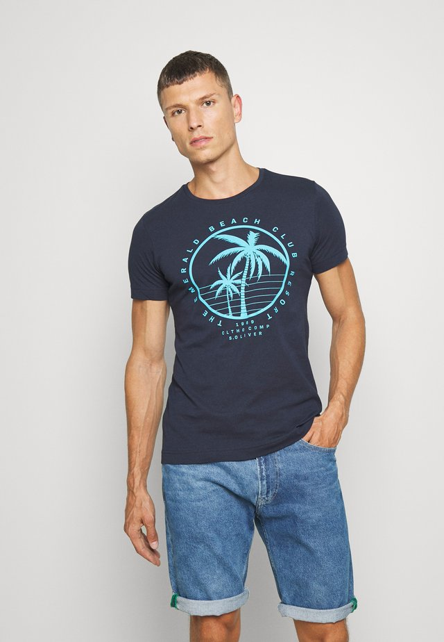 T-shirt con stampa - moon rock