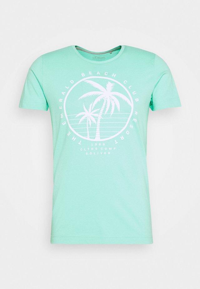 T-shirt print - mint