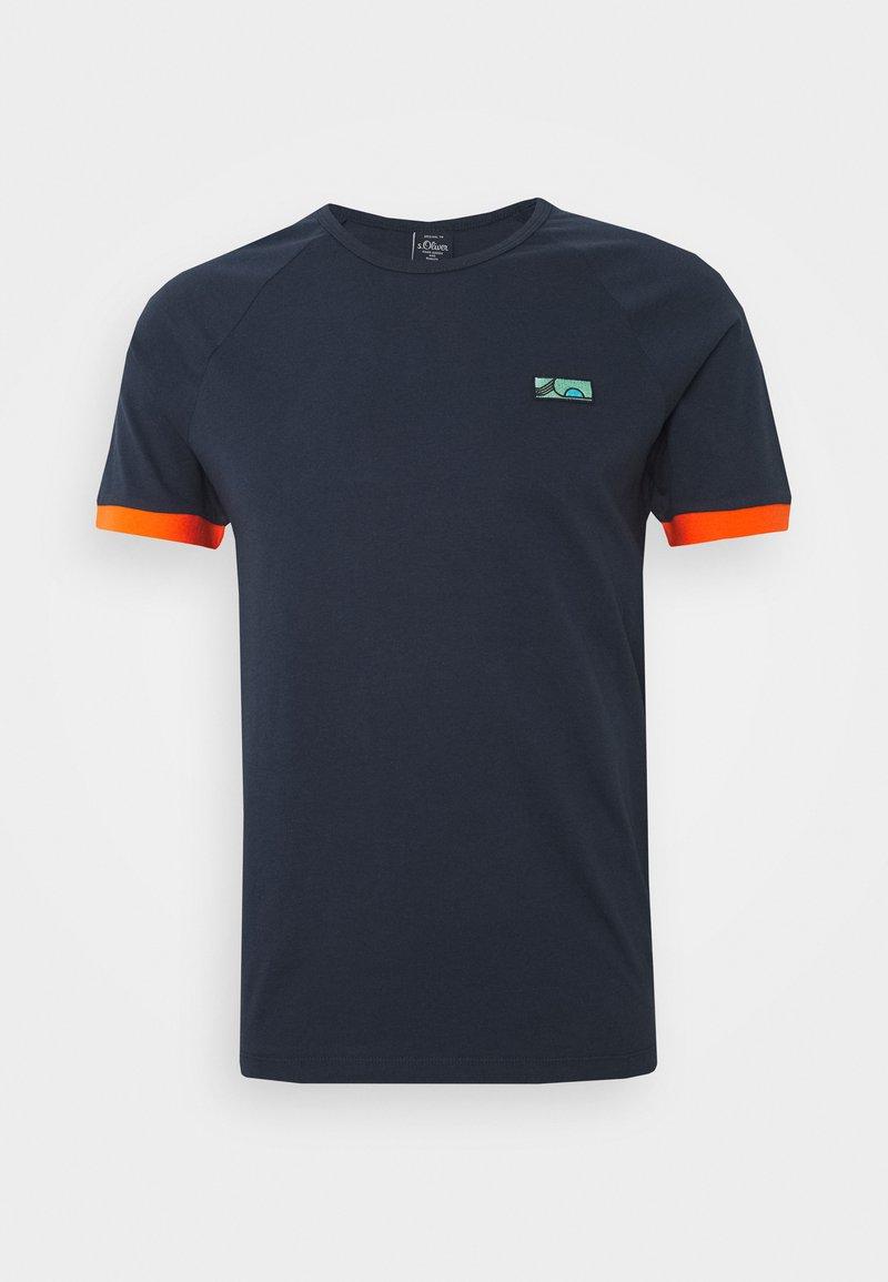 s.Oliver - KURZARM - T-shirt basic - moon rock