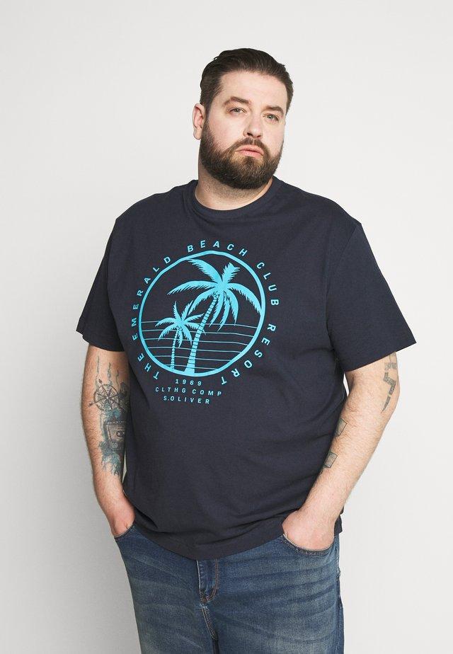 KURZARM - T-shirt con stampa - moon rock
