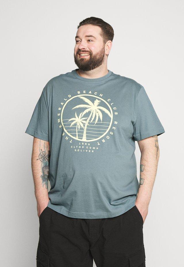 KURZARM - T-shirt print - frosty blue