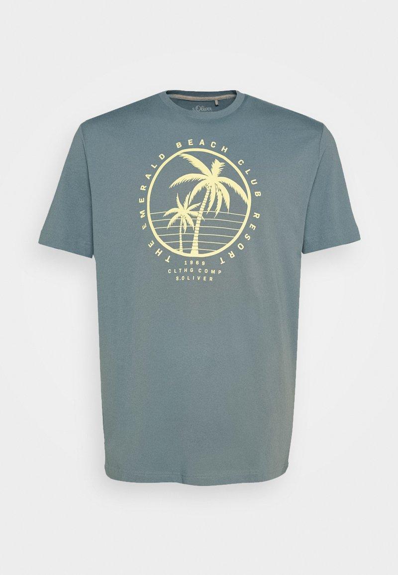 s.Oliver - T-shirt print - frosty blue