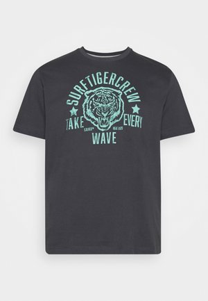 KURZARM - Camiseta estampada - black