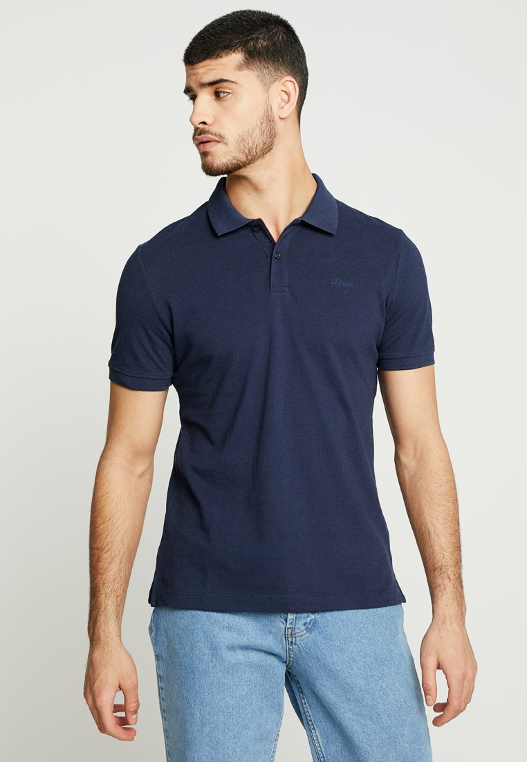 s.Oliver - Polo shirt - midnight