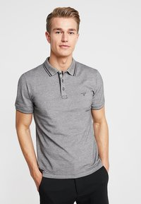 s.Oliver - Polo shirt - charcoal melange - 0