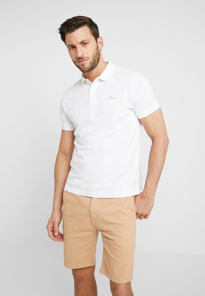 s.Oliver - Polo shirt - white