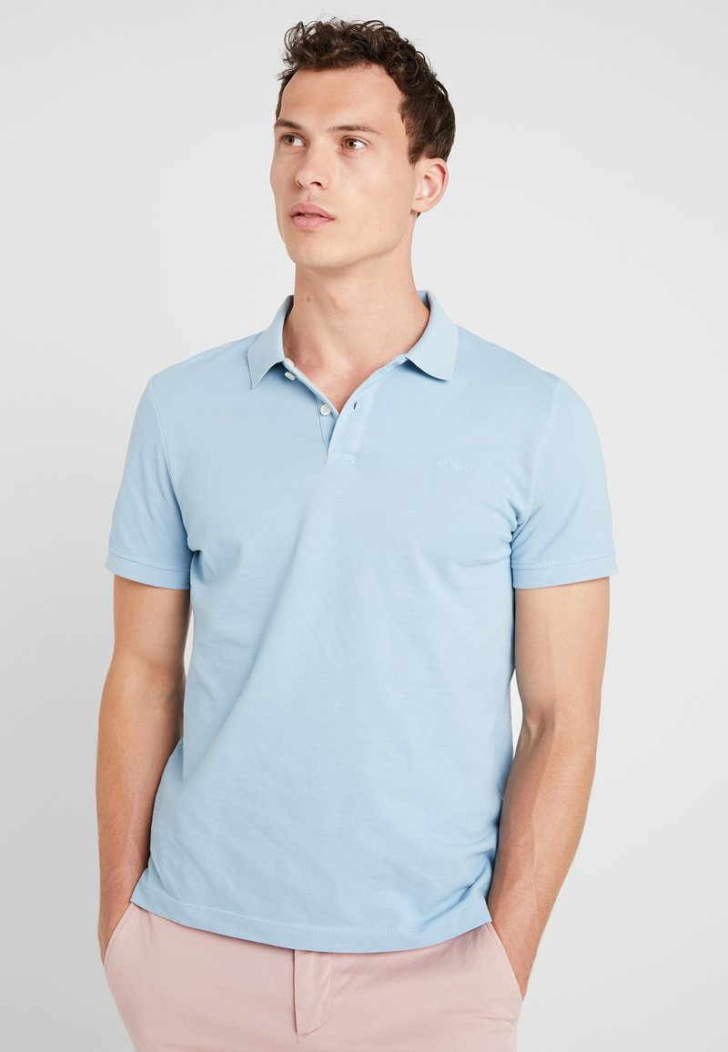 s.Oliver - Poloshirt - blue mist