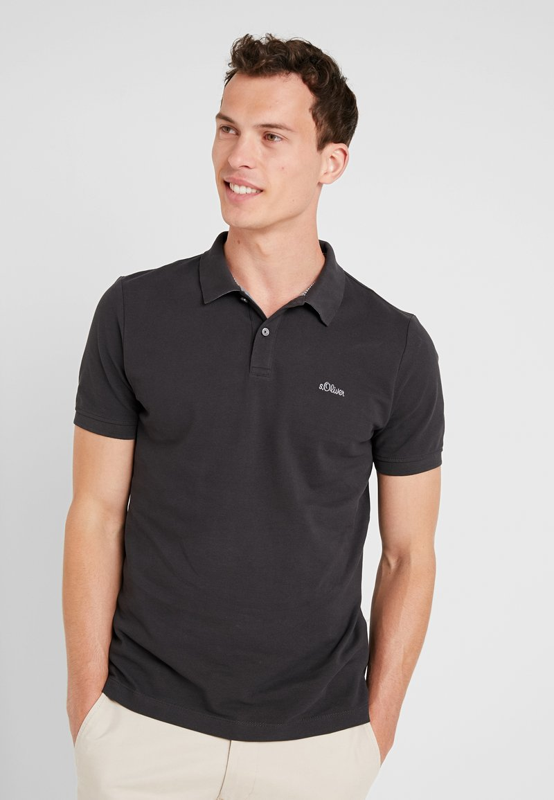 s.Oliver - Polo - charcoal