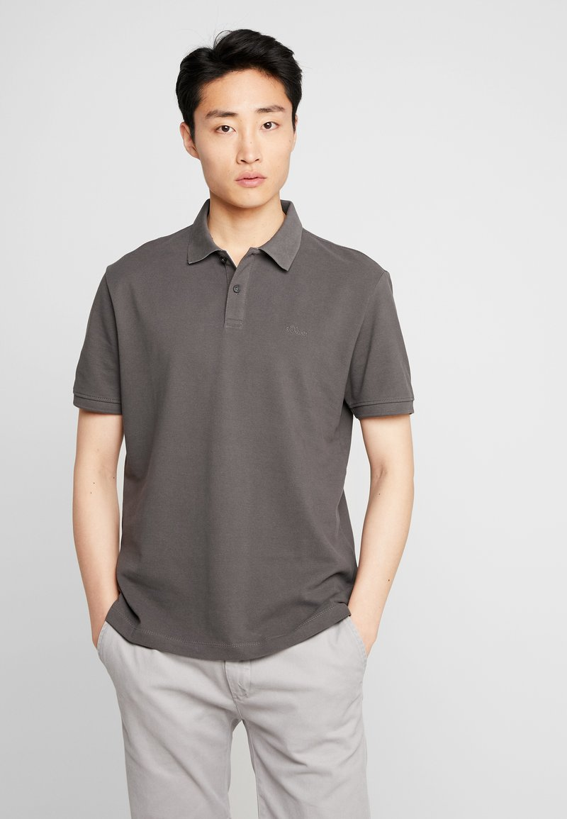 s.Oliver - Polo shirt - anthracite