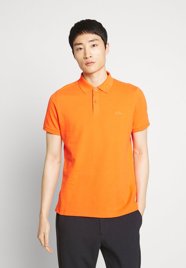 Poloshirt - pop orange