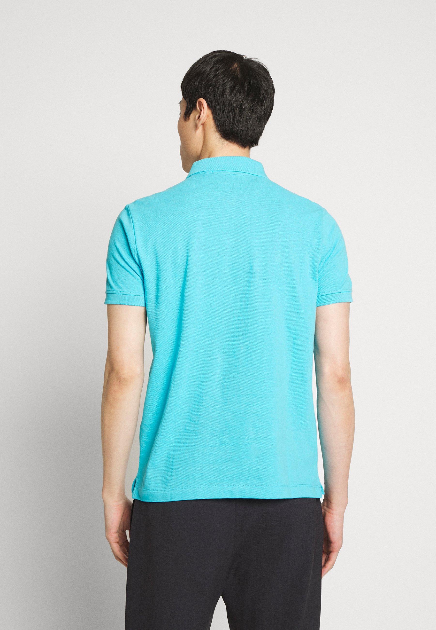 s.Oliver KURZARM - Poloshirts - light cyan