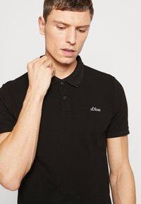 s.Oliver - Poloshirt - black - 3
