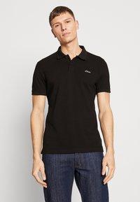 s.Oliver - Poloshirt - black - 0