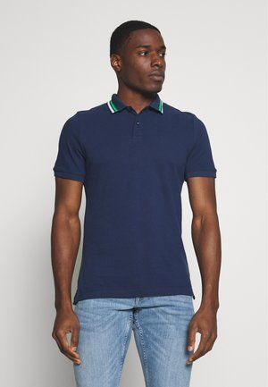 KURZARM - Poloshirt - blue