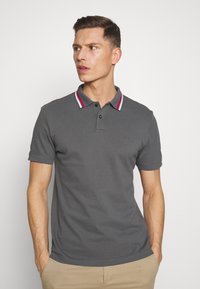 s.Oliver - KURZARM - Polo shirt - smoke grey - 0