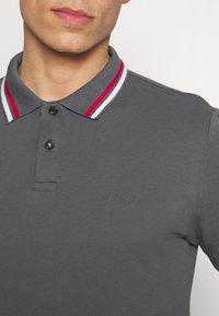 s.Oliver - KURZARM - Polo shirt - smoke grey - 5