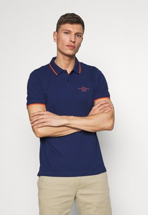 T-SHIRT KURZARM - Polo shirt - dark ink blue