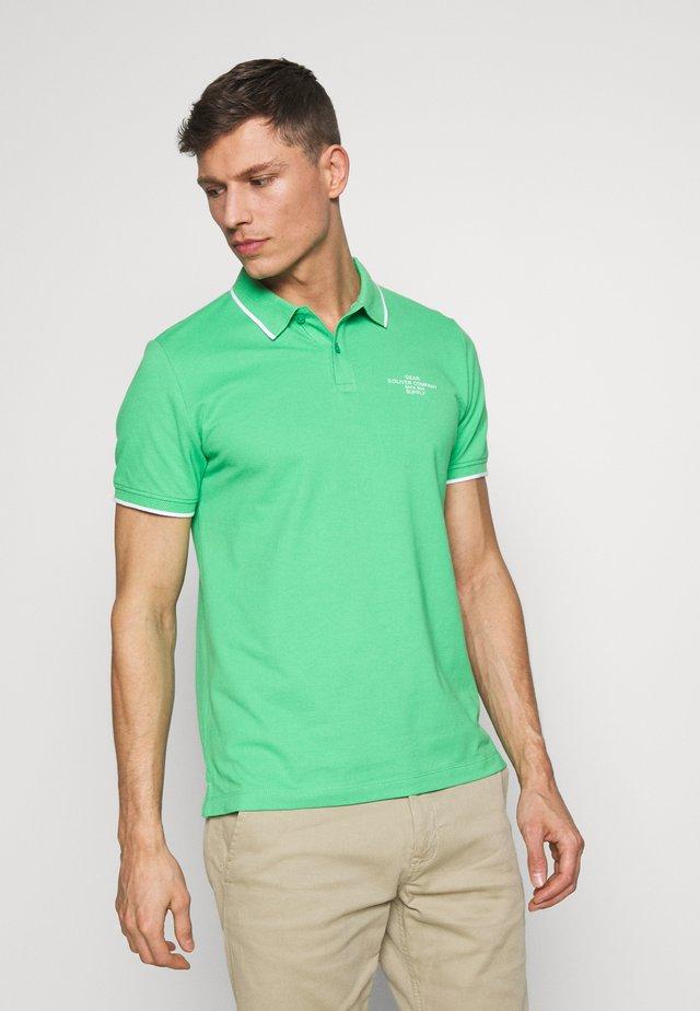 T-SHIRT KURZARM - Poloshirt - green