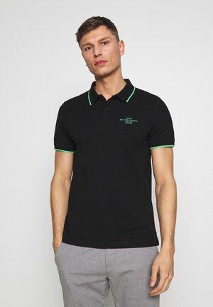 T-SHIRT KURZARM - Polo shirt - black