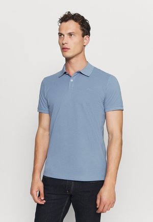 Polo shirt - smoky blue