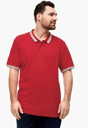 POLOSHIRT AUS PIQUÉ - Polo shirt - red