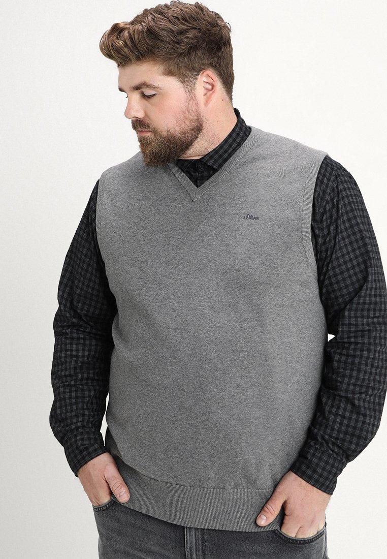 s.Oliver - PULLUNDER - Jersey de punto - blend grey