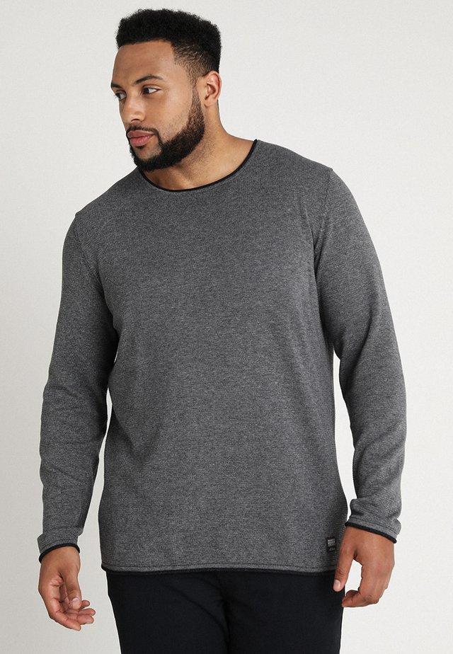 LANGARM - Strickpullover - blend grey