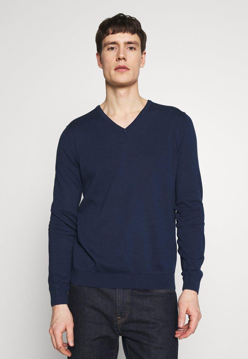 s.Oliver - Strickpullover - blue