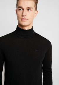 s.Oliver - Jumper - black - 4