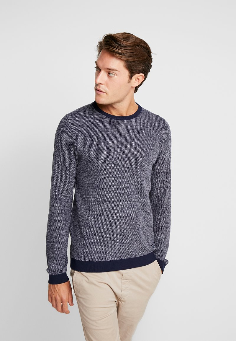 s.Oliver - Strickpullover - night blue melange