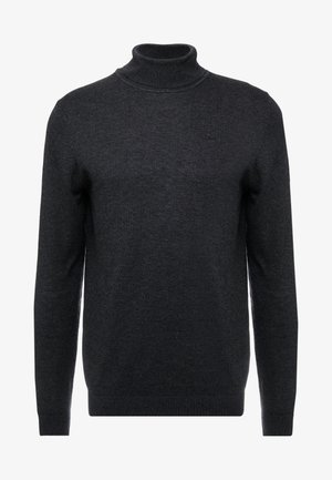 Sweter - mottled black