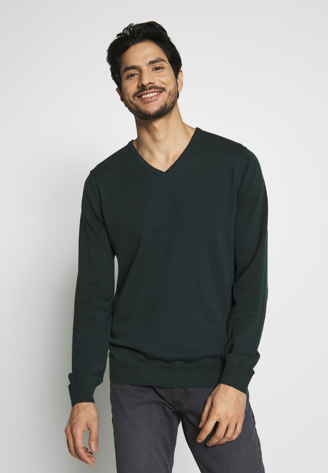 Pullover - blue green
