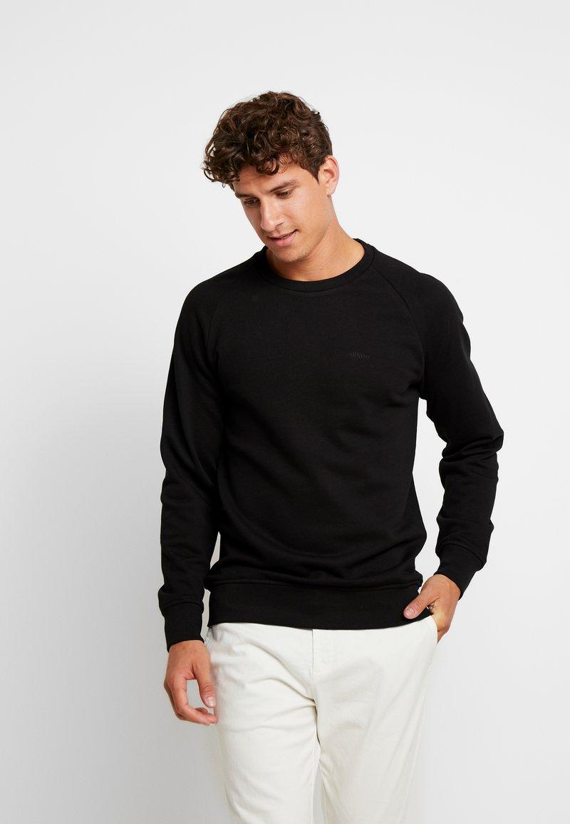 s.Oliver - REGULAR FIT - Sweatshirt - black