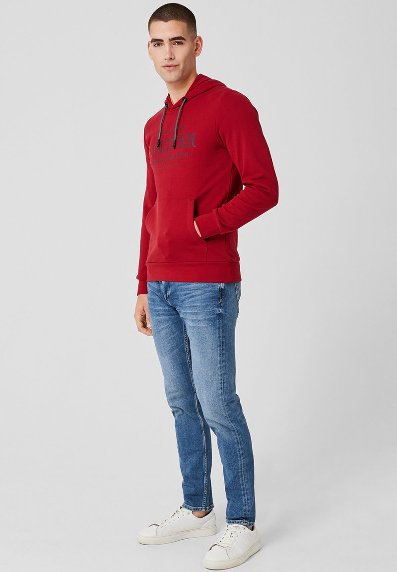 s.Oliver - Kapuzenpullover - red