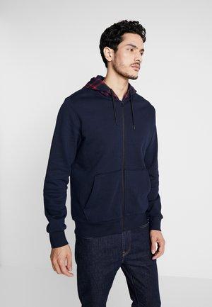 veste en sweat zippée - dark blue