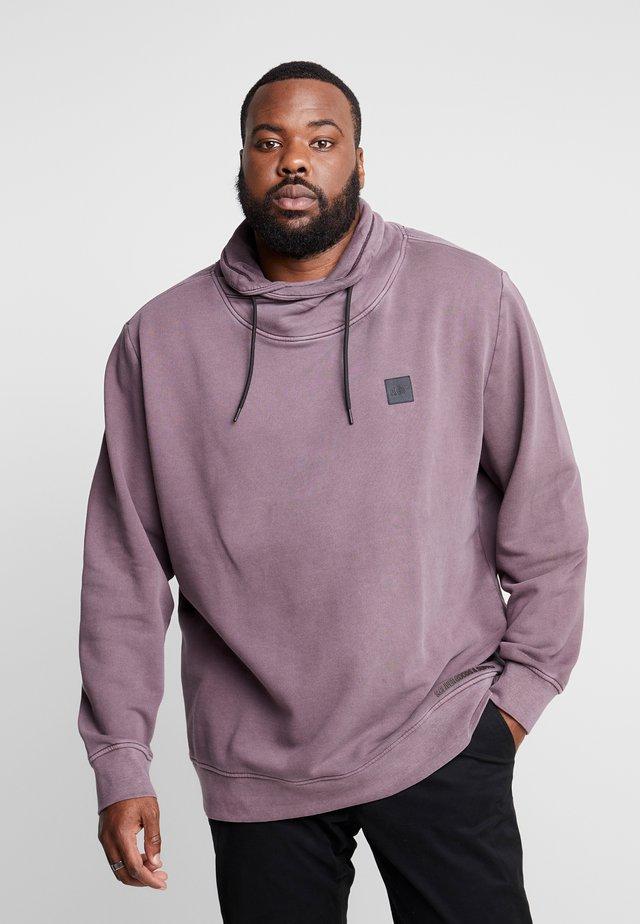 LANGARM - Sweater - purple/pin