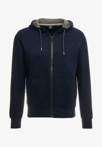 s.Oliver - veste en sweat zippée - blue - 5