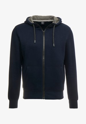 veste en sweat zippée - blue